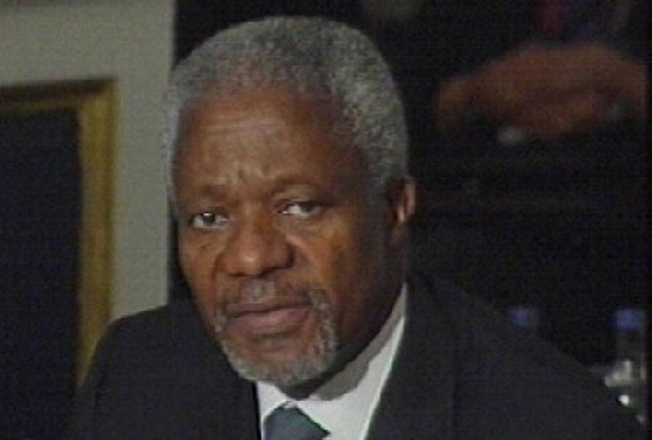 Kofi Annan - Talks on Lebanon force delayed