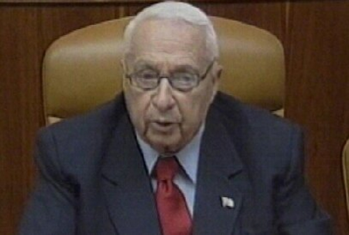 Ariel Sharon - Promises to facilitate poll