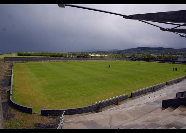 Shamrock Rovers' stadium under construction in Tallaght