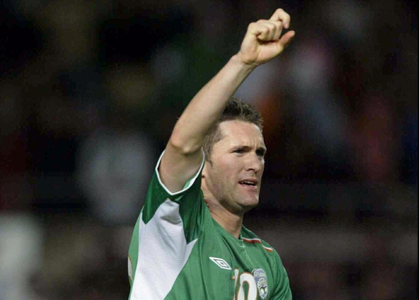 An incredulous Robbie Keane was replaced by Stephen Elliott after 67 minutes