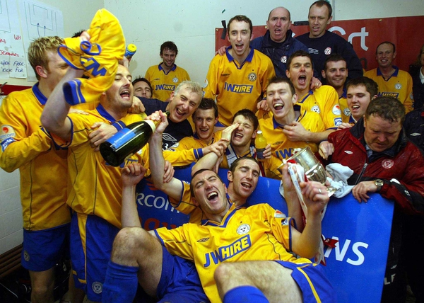 Shelbourne are in Champions League action