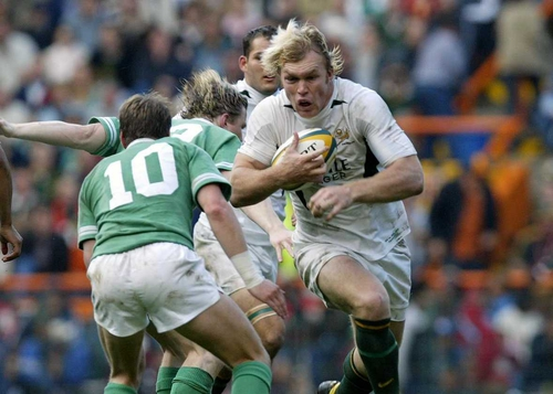 IRB Player of the Year Schalk Burger in action at Lansdowne Road earlier this month
