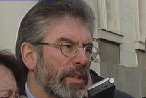 Gerry Adams - 'Good meeting' with Taoiseach