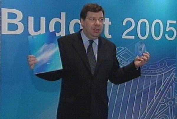 Minister for Finance - Brian Cowen has defended his spending policies