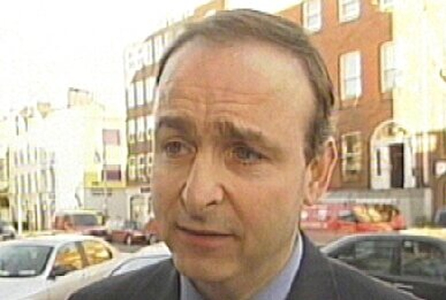 Micheál Martin - Did not see 2003 advice -