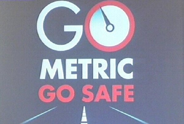 Metric speed limits - Awareness campaign