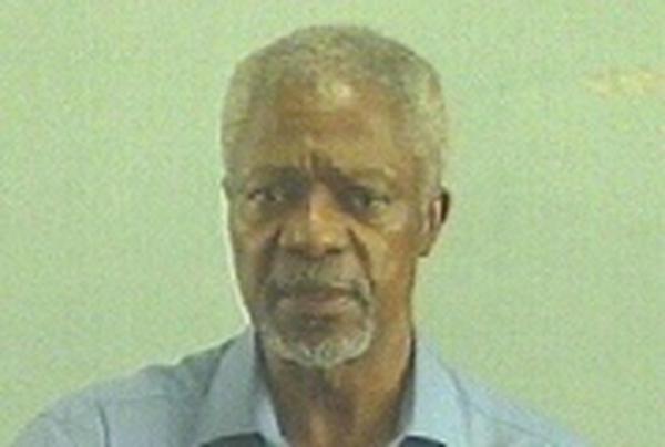 Kofi Annan - Concern for Darfur