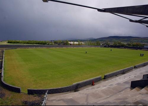 Shamrock Rovers half-finished stadium in Tallaght