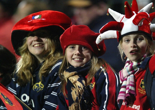 Munster's faithful following return to Lansdowne Road for Sunday's Heineken Cup semi-final with Leinster
