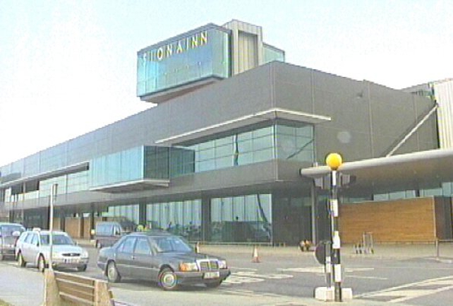 Shannon Airport - US plane lands safely