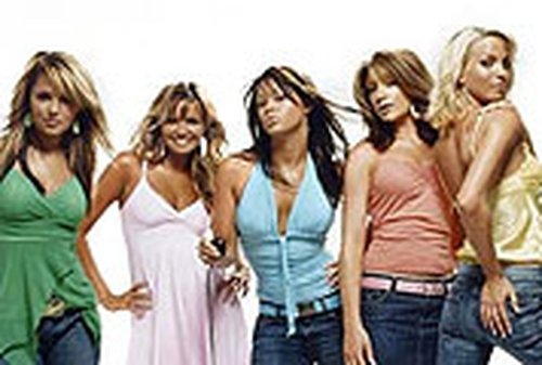 Girls Aloud - Wished the contestants on show good luck
