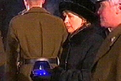 President McAleese - At Auschwitz ceremony