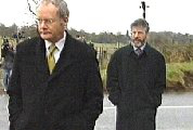 McGuinness & Adams - SF releases joint statement