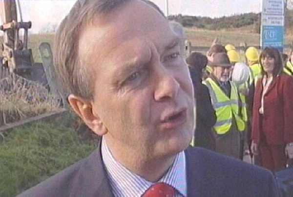 Martin Cullen - Turns sod on €179m project