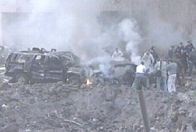 Beirut - Massive car bomb kills 13