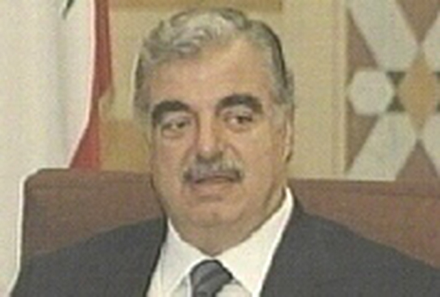 Rafik Hariri  - Assasinated in February