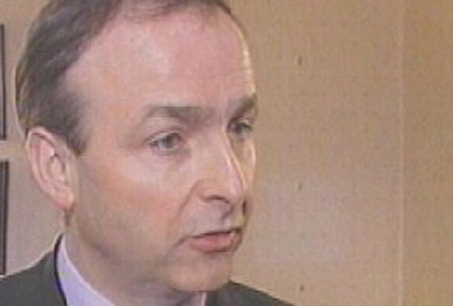 Micheál Martin - Says he only found out about illegal charges in late 2004