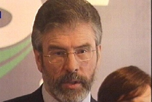 Gerry Adams - In warning to McCartney killer