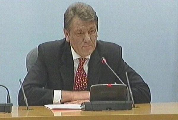 President Viktor Yushchenko - Aims to form new government