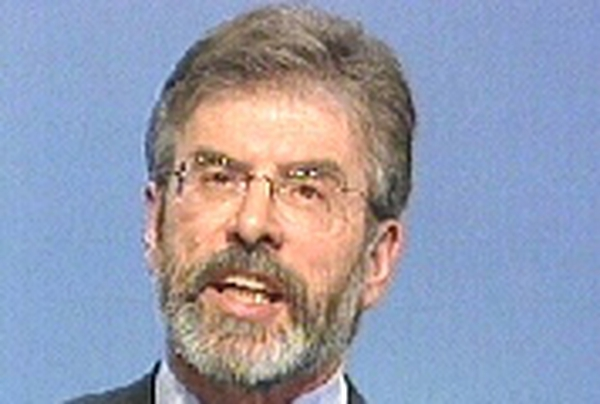 Gerry Adams - Effort to avert repeat of last year's violence