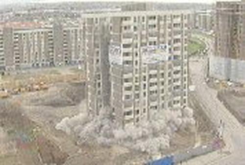 Ballymun, Dublin - Tower demolished