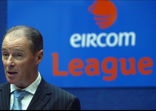 Brian Kerr pictured at today's launch