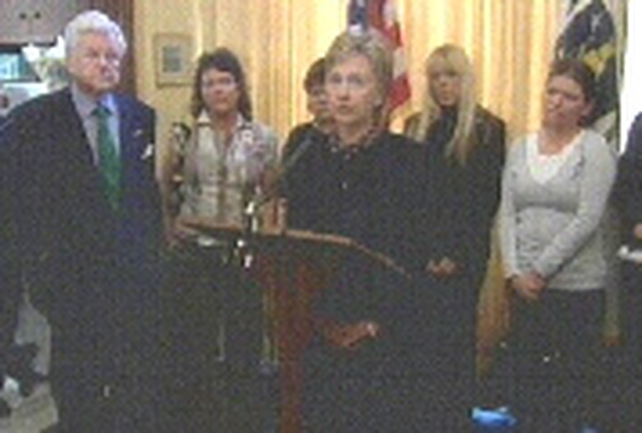 McCartney family - Met US Senators