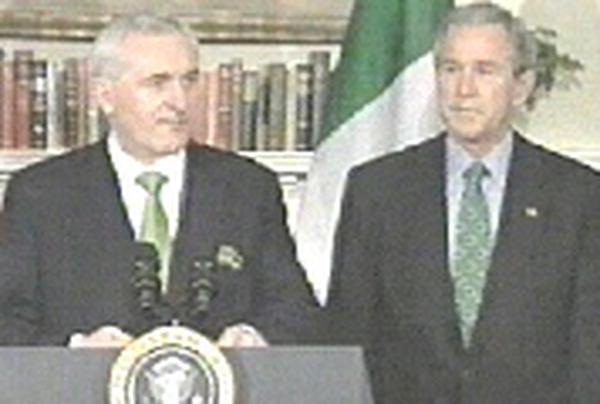 Ahern and Bush - Washington meeting on Friday