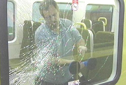 DART vandalism - 25 windows smashed