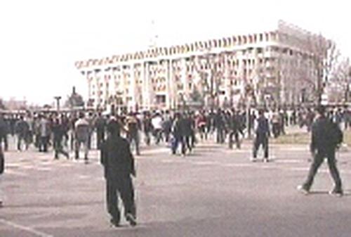 Bishkek - Opposition protests