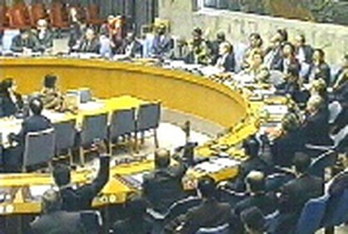 UN Security Council - Backing for Darfur sanctions