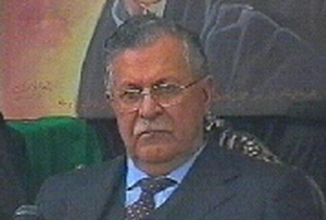 Jalal Talabani - Promises inclusive Iraq