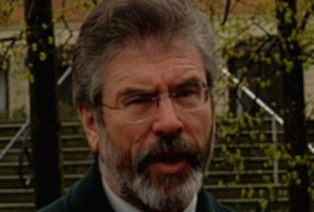 Gerry Adams - Welcomes forensic move