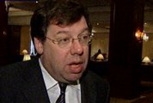 Brian Cowen - Addresses business leaders in Derry