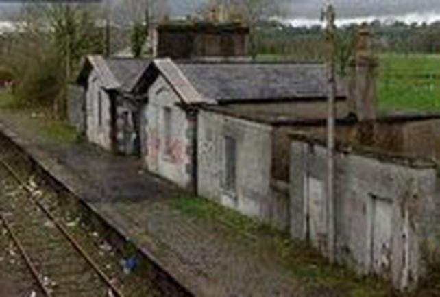Midlands train station - Derelict in line closure