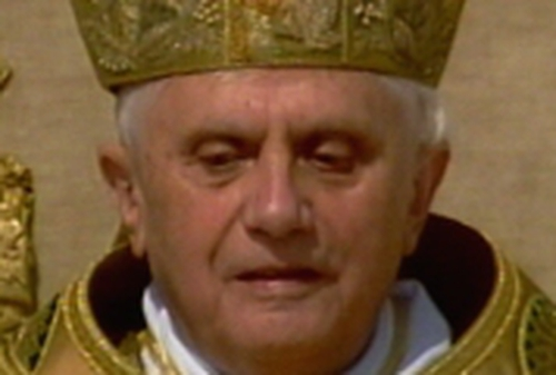 Pope Benedict XVI - Hailed inter-faith dialogue