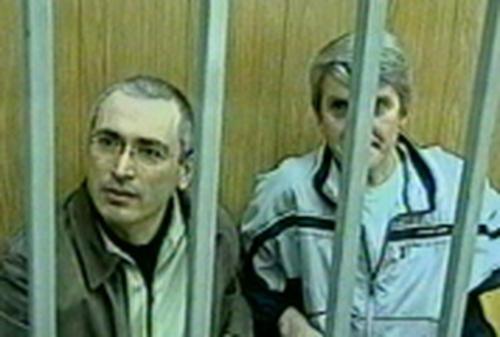 Mikhail Khodorkovsky & Platon Lebedev - Jailed for nine years