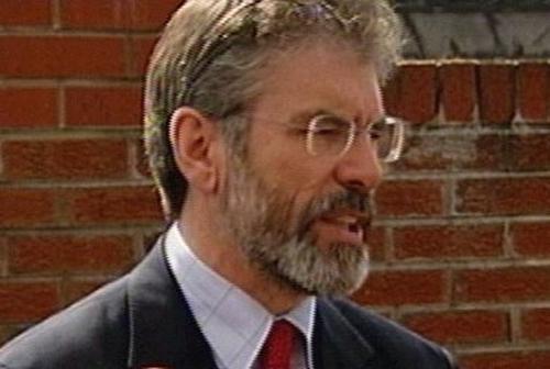 Gerry Adams - Will meet Ahern