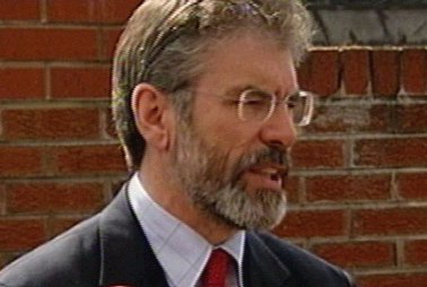 Gerry Adams - Will meet Ahern