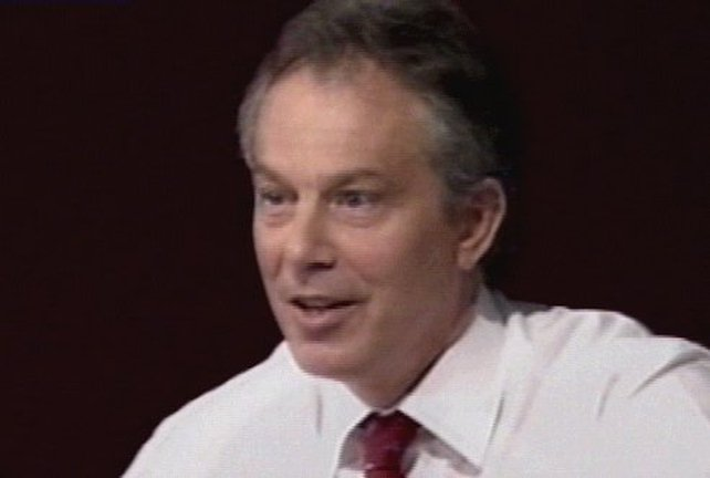 Tony Blair - Backs EU Constitution