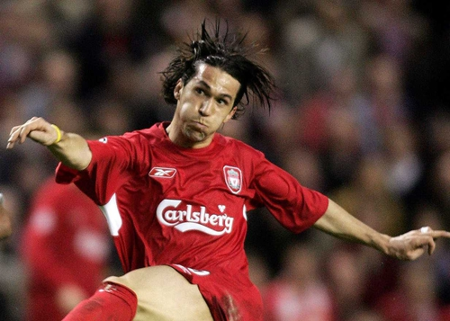 Luis Garcia's late goal gives Liverpool victory over Arsenal