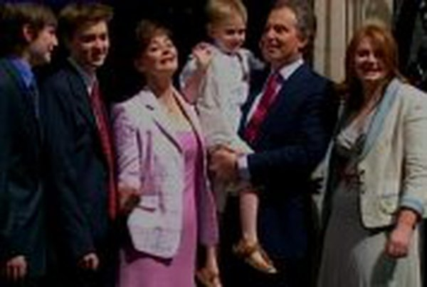 Blair family - Returned to  - Downing Street