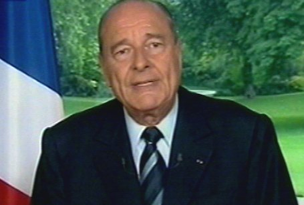 Jacques Chirac - Talks with Gerhard Schroeder