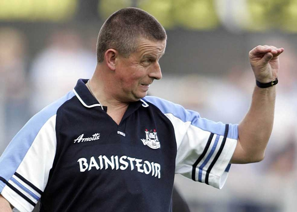Dublin manager Paul Caffrey