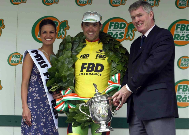 Newton has won the FBD Insurance Rás twice so will be very familiar with Irish conditions
