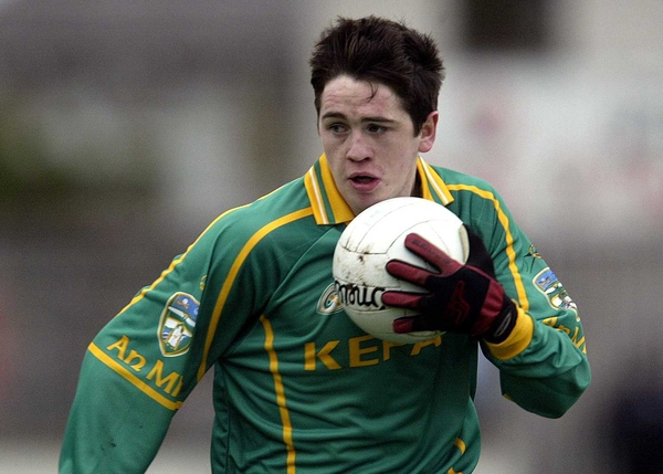 Peadar Byrne - one of Meath's Championship debutants on Sunday