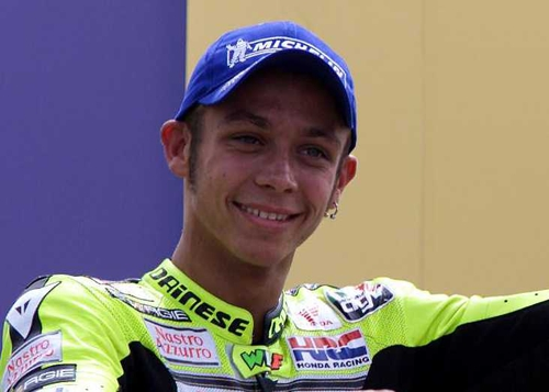 Valentino Rossi will start from pole position as he looks to wrap up his sixth world title