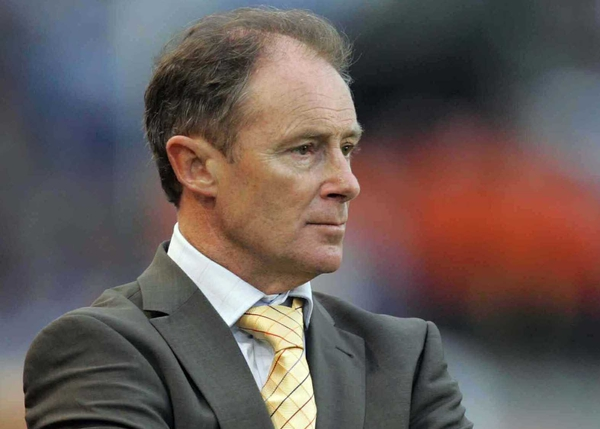 Ireland manager Brian Kerr suffered his first competitive defeat at Lansdowne Road