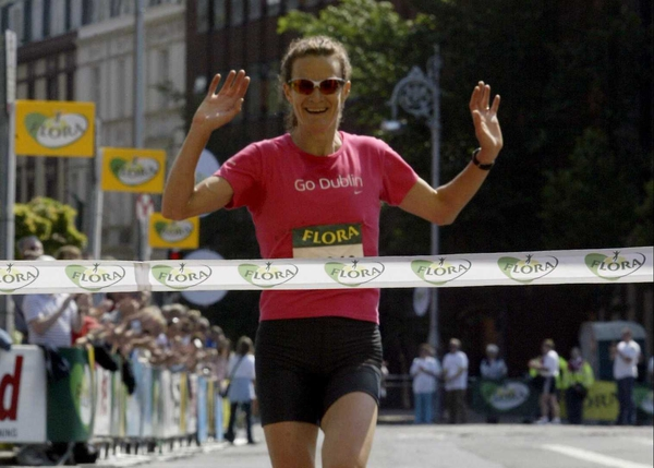 Sonia O'Sullivan told RTÉ News that she went to the gym and had a late lunch directly prior to winning this race