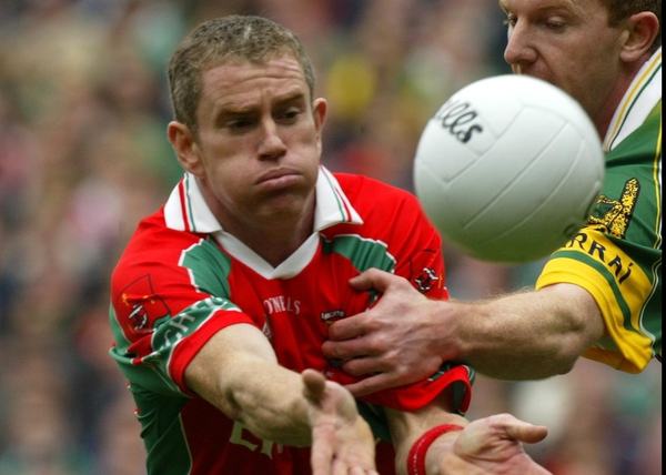Gary Ruane pictured in action during last year's All-Ireland final - the last time he featured for Mayo in a competitive match